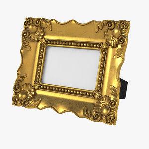 realistic baroque picture 5 3D model