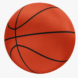 3D model basketball ball