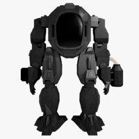 mecha robot 3D