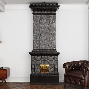 ceramic fireplace model