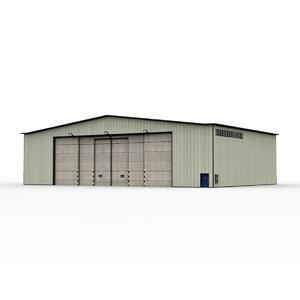 military hangar 3D model