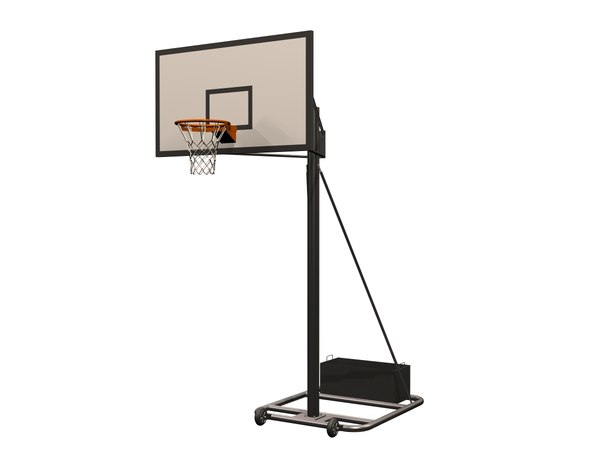 basketball stand 3D model
