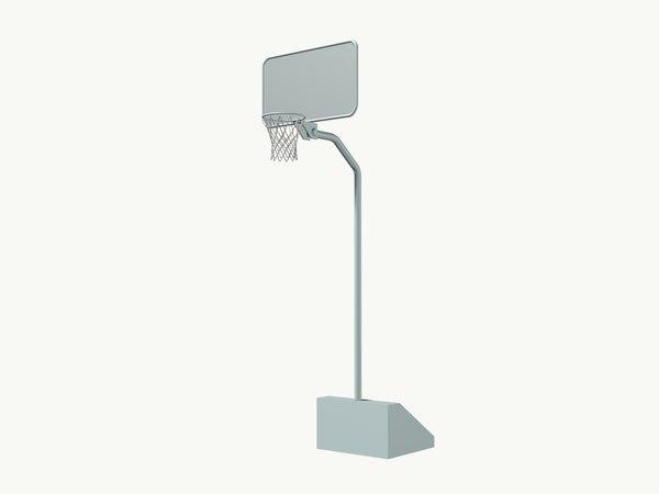 basketball stand02 3D