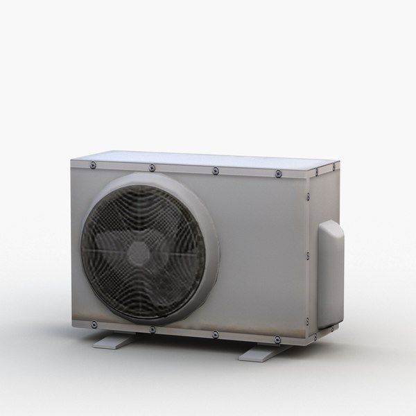 outdoor air conditioner ac 3D model