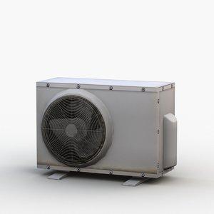outdoor air conditioner ac 3D model