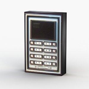 bell intercom model