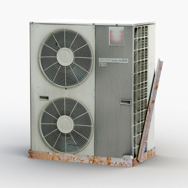3D outdoor air conditioner ac