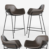 oslo bar stool deephouse 3D
