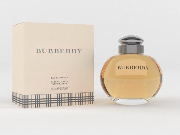 burberry eau parfum women 3D model