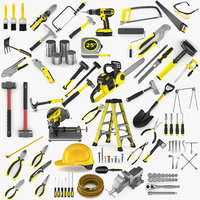 44 Models Tools + Hand Tools Collection