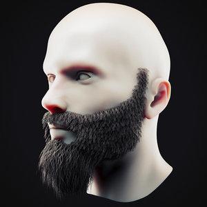 beard 13 3D model