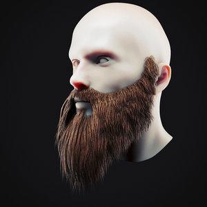 beard 16 3D model