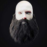 Beard Low Poly 15