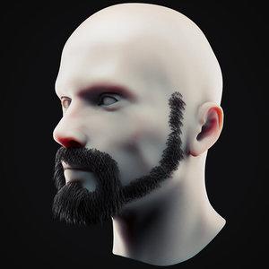 3D beard 19