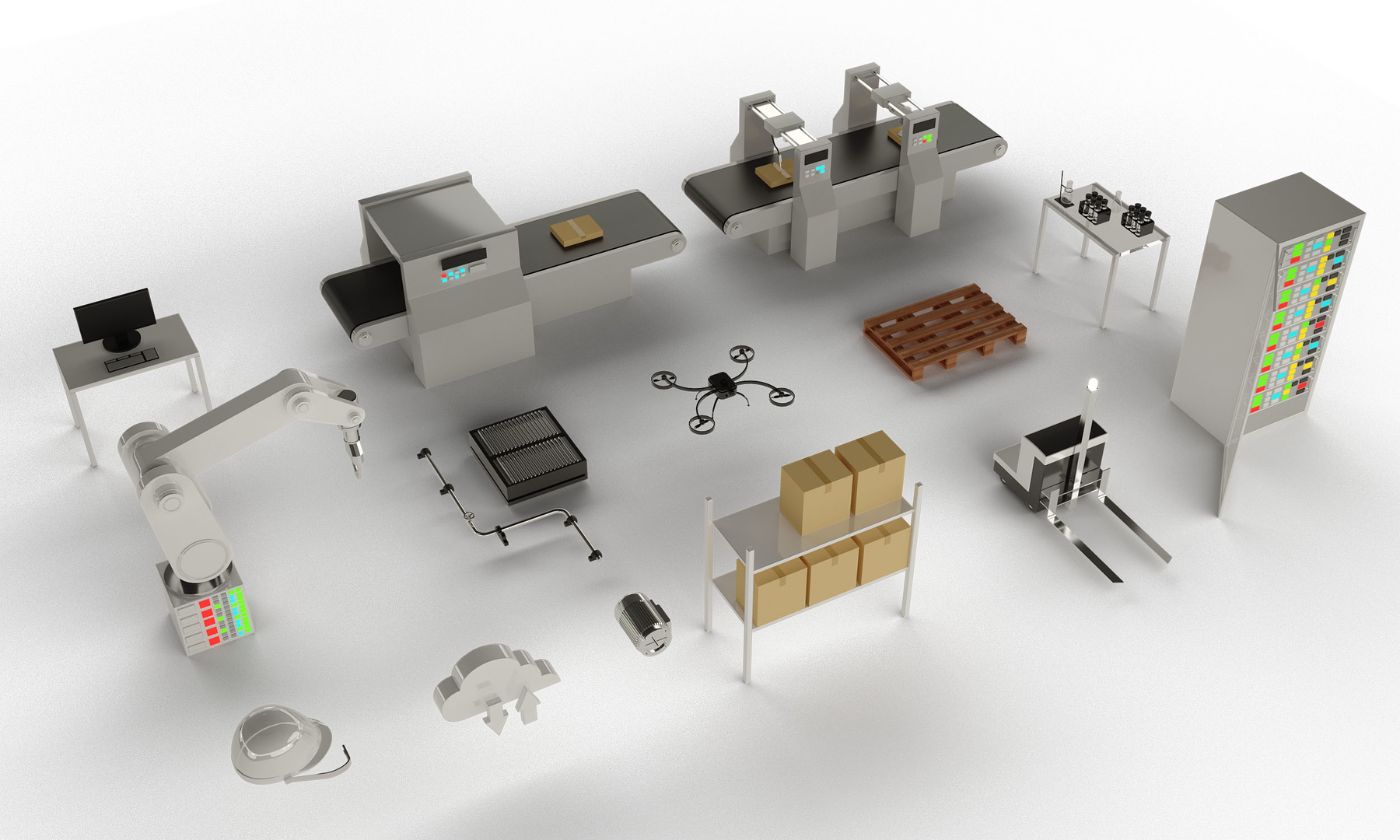 3D icons factory