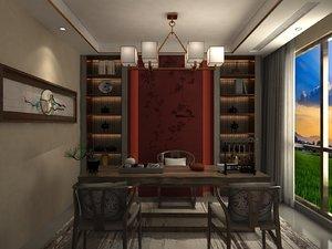 interior tea room model