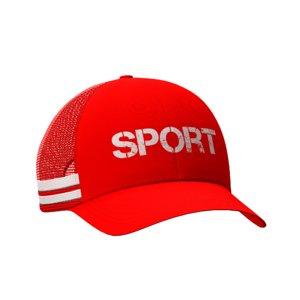 3D trucker hat model