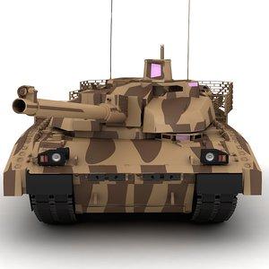 3D model tank amx leclerc xlr