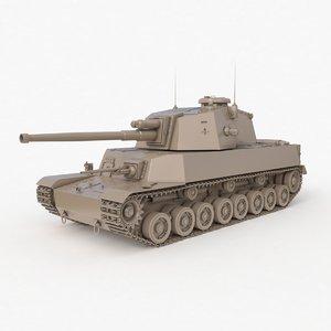 3D tank type 5 chi-ri