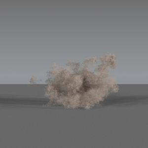 3D dust explosion 03 vdb