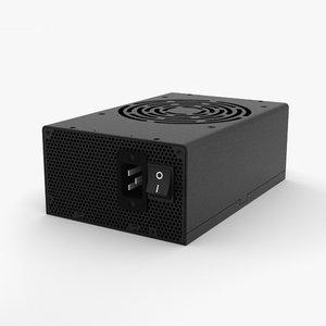 3D power supply model