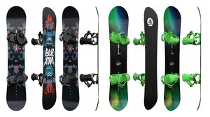 3D snowboards boards