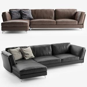 bahia sofa alivar 3D model