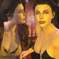 3D realistic fashion rigged model
