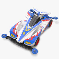 victory magnum super chassis 3D model