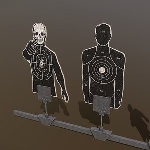 3D shooting targets pack