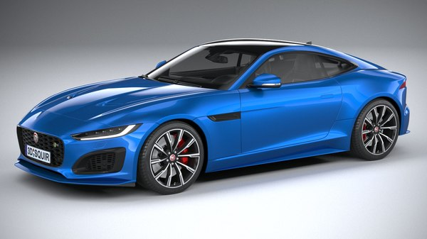 3D model f-type r coupe
