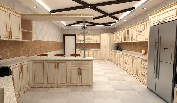 kitchen 09 3D model