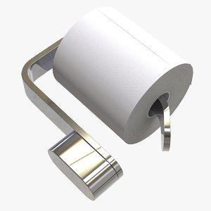 toilet paper holder hook 3D