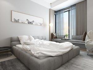 bedroom sill table model