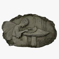 3D model fairy relief