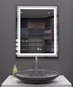 3D illuminated mirror