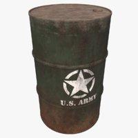 3D barrel pbr