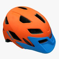 3D mountainbike helmet model