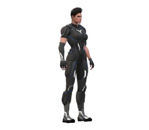 3D crackdown agent female