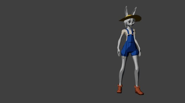 ready rig animation 3D model