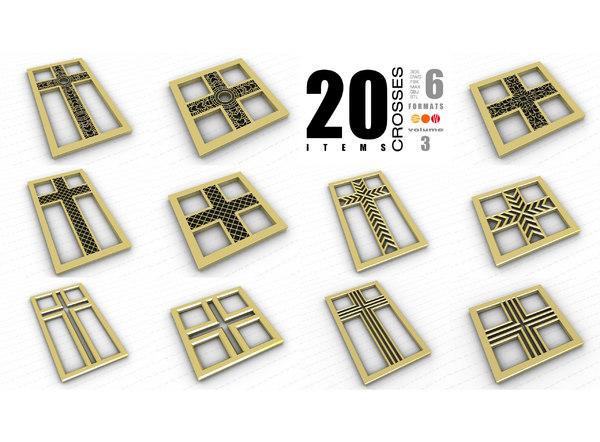 crosses vol 3 3D model