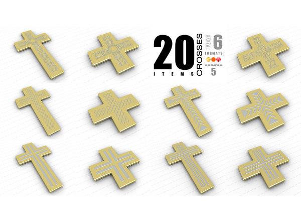 3D model crosses vol 5