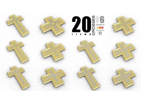 3D crosses vol 11 model