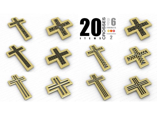3D crosses vol 2