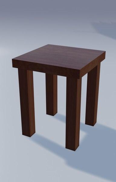 furniture furnishing 3D model
