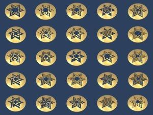 3D medallions vol 1 model