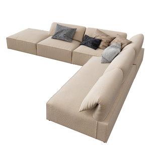 gherardi sofa 3D model