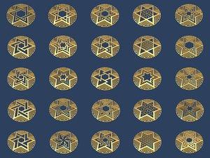 3D medallions vol 3