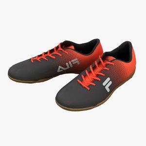 3D fila shoes