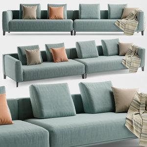 3D model albertasalotti dylan sofa alberta
